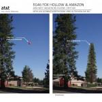 ATT balloon test showing open space no shielding